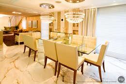 SALA DE JANTAR:   por injy Interior Design