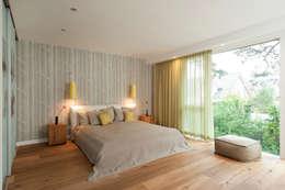 moderne Slaapkamer door Cubus Projekt GmbH