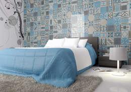 moderne Schlafzimmer von fogazza