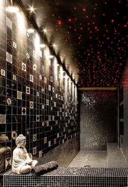 Projekty,  Łazienka zaprojektowane przez Matteo Gattoni - Architetto