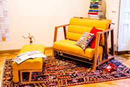 modern Living room by UNAMO design