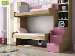 Dormitorios infantiles  de estilo  por Muebles Parchis. Dormitorios Juveniles.