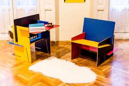 Living room by UNAMO design