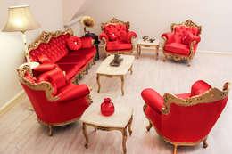 Galleria Gaia – Charm el Ahmer: klasik tarz tarz Oturma Odası