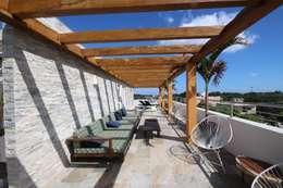 Terrazas de estilo  por axg arquitectos