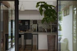 moderne Küche von Sakurayama-Architect-Design