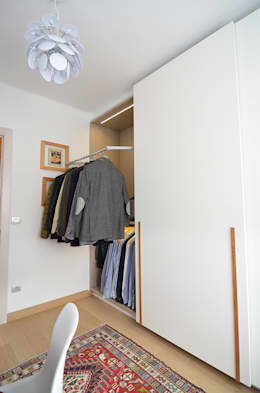 modern Dressing room by Trestrastos
