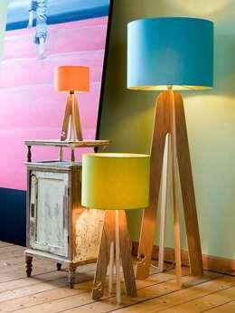 rustic Living room by Designort