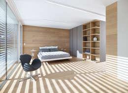 غرفة نوم تنفيذ Burnazzi  Feltrin  Architects