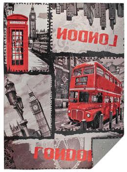 Big Ben Bus: Soggiorno in stile  di tappeti made in italy