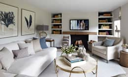country Living room by Helen Green Design