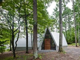 安曇野の山荘: カスヤアーキテクツオフィス(KAO)が手掛けた家です。