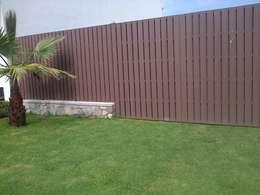 A disfrutar el aire libre en casa 5 grandes ideas que for Barda de madera para jardin