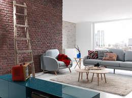 Projekty,  Salon zaprojektowane przez PANELPIEDRA