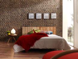 moderne Slaapkamer door PANELPIEDRA
