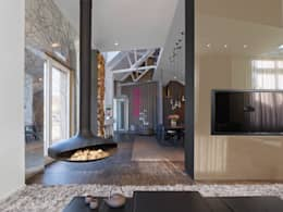 modern Living room by Ippolito Fleitz Group – Identity Architects