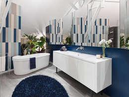 moderne Badkamer door Ippolito Fleitz Group – Identity Architects