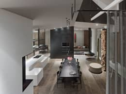 modern Dining room by Ippolito Fleitz Group – Identity Architects