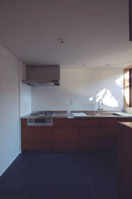 若林M邸: 遠藤誠建築設計事務所(MAKOTO ENDO ARCHITECTS)が手掛けたキッチンです。
