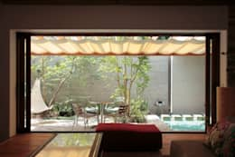 Jardin de style de style Moderne par 遠藤誠建築設計事務所(MAKOTO ENDO ARCHITECTS)
