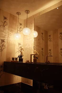 LAVABO : Banheiros modernos por Leles Arquitetura e Iluminação