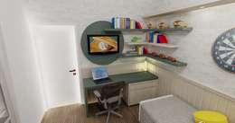 Dormitório Menino: Quarto infantil  por RS Design Studio
