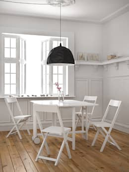 scandinavian Dining room by Karl Malmvall Design