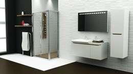 MAESTA BATHROOM FURNITURE – ARCO - MAESTA BATHROOMS: modern tarz Banyo