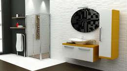 MAESTA BATHROOM FURNITURE – ORO - MAESTA BATHROOMS: modern tarz Banyo