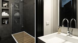 asian Bathroom by choc studio interieur