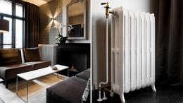 De rooksalon: klasieke Woonkamer door choc studio interieur