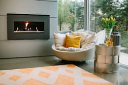 غرفة المعيشة تنفيذ Indie Style Interiors