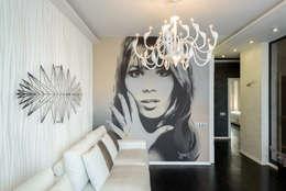 Квартира с лицом: Гостиная в . Автор – Студия дизайна