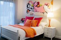 Chambre de style de style eclectique par Indie Style Interiors