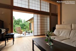 modern Garden by アトリエきらら一級建築士事務所