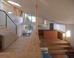 庭と暮らす家: INADE architectsが手掛けた家です。