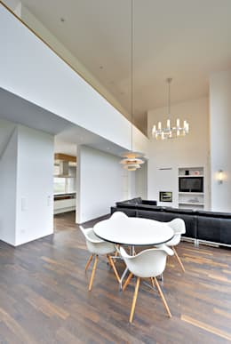 Projekty,  Jadalnia zaprojektowane przez Möhring Architekten