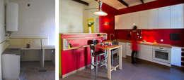 La cuisine avant et après:  de style  par Atelier RnB