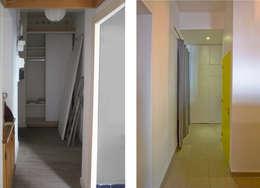 L'entrée avant et après:  de style  par Atelier RnB