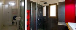 La salle de bain avant et après:  de style  par Atelier RnB
