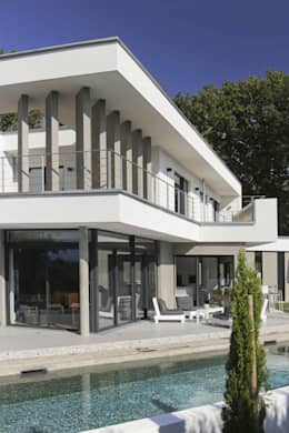 maison neuve biarritz maisons de style de style moderne par atelier darchitecture - Maison Moderne Biarritz