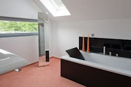 Ванные комнаты в . Автор – aaw Architektenbüro Arno Weirich