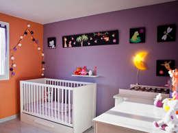 Baby Side - Chambre bébé Ana: Chambre d'enfant de style de style Moderne par B.Inside