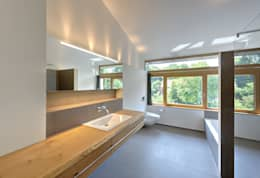 modern Bathroom by Möhring Architekten