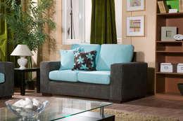 MUNGAN INTERIOR DESIGN – iç mekan,stant ve ürün tasarımları: modern tarz Oturma Odası