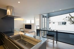 千代田の家: reisubroc architectsが手掛けたキッチンです。