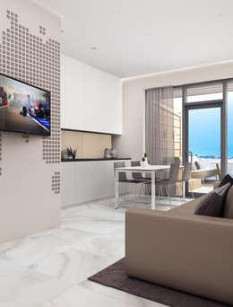 Salas / recibidores de estilo moderno por VITTA-GROUP