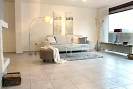 moderne Woonkamer door wohnhelden Home Staging