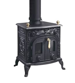 Livings de estilo rural por Direct Stoves
