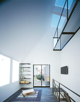 高橋直子建築設計事務所의  거실